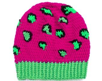 Neon Beanie Mütze Etsy