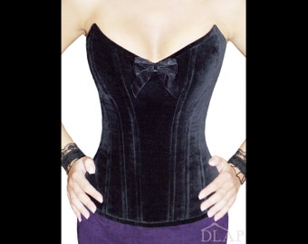 CORSET PATTERN Overbust Burlesque Pointed Style. Instant download pdf sewing pattern.