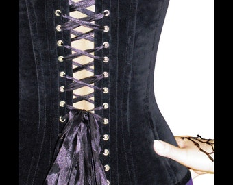 Corset Pattern Overbust Burlesque Pointed Style. Instant download pdf sewing pattern.XL and XXL.