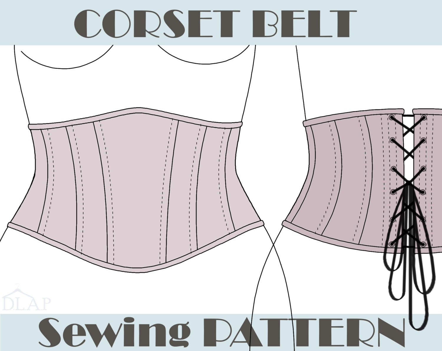 Corset Sewing Pattern Best Inspiration Ideas