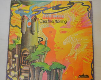Vintage Record Lighthouse: One Fine Morning Album 3007