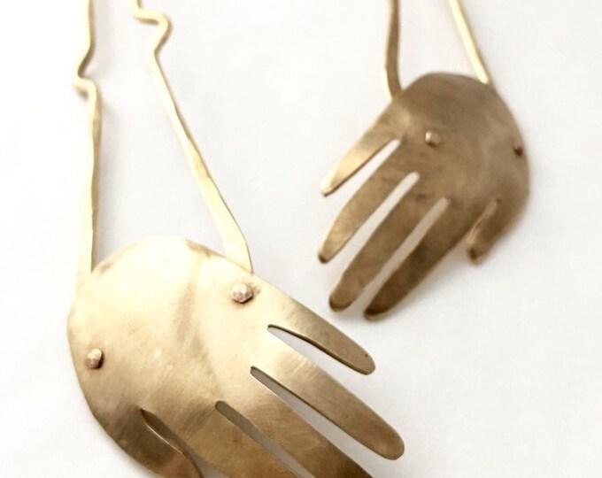Hand Hair Fork