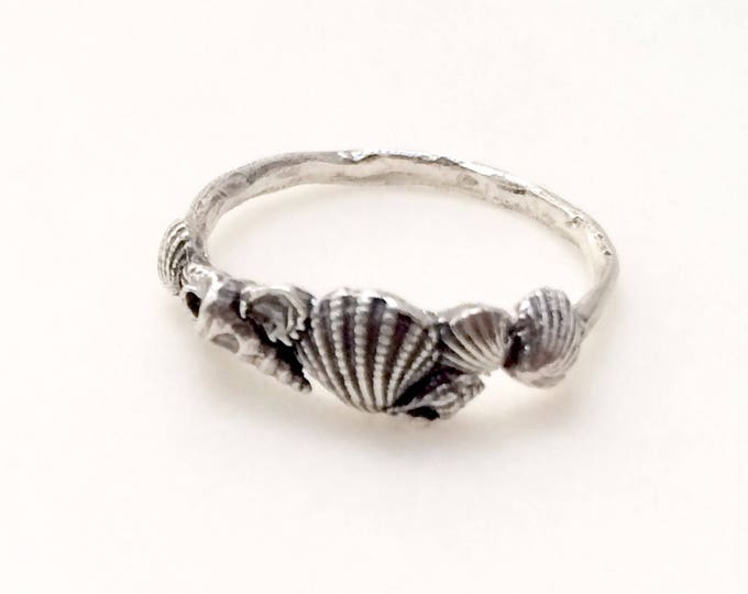 Beachcomber Shell Ring