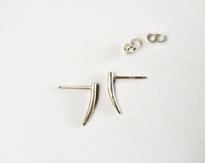 Fang Studs | Sterling Silver