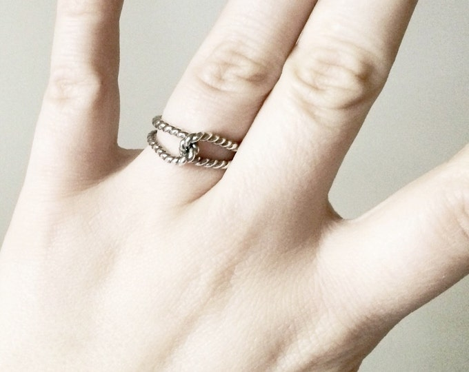 Rope Knot Ring