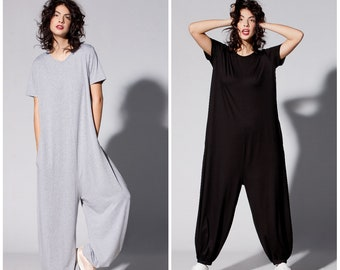 Aspiring Cross Border Selling Deep V Cross Jumpsuits Jumpsuit Wholesale Women's Clothing