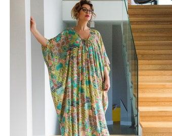 Plus size dress, Plus size robe, kaftan, Kaftan maxi dress, Robe, plus size maxi dress, plus size clothing, plus size caftan,dress
