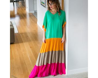 Plus size Maxi dress / Boho maxi dress/ maxi dress boho/ Boho plus size dress/ Summer maxi dress/ Plus size dress/ Plus size boho/ Plus size