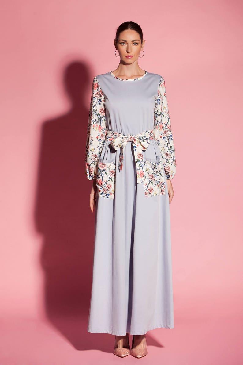Floral maxi dress/ A line dress/ Plus size Floral Maxi dress/ | Etsy