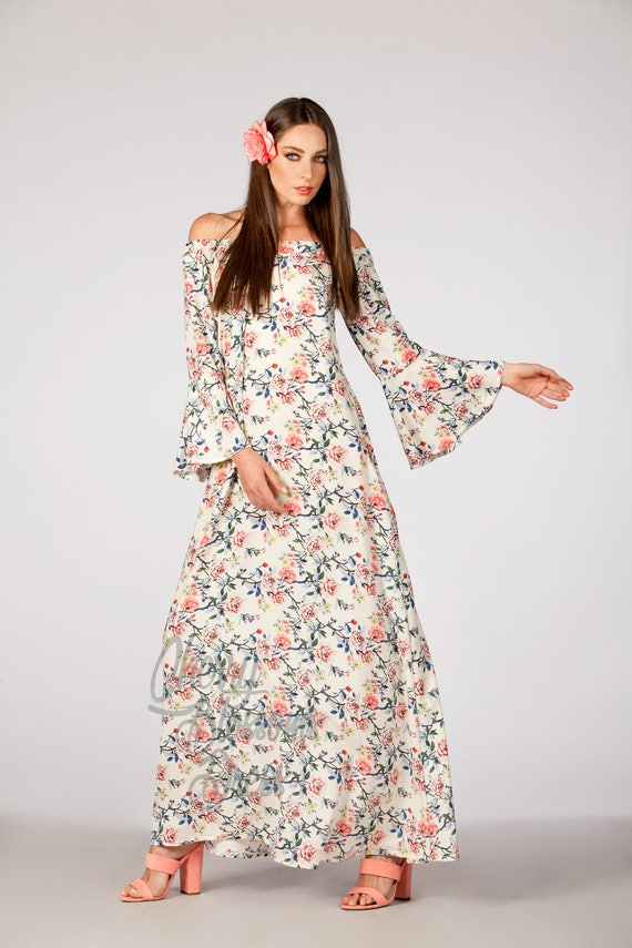 Dress floral Summer Floral Boho dress Maxi dress dress dress dress maxi Summer women dress maxi Maxi Floral for Summer dress q4tgFv4w