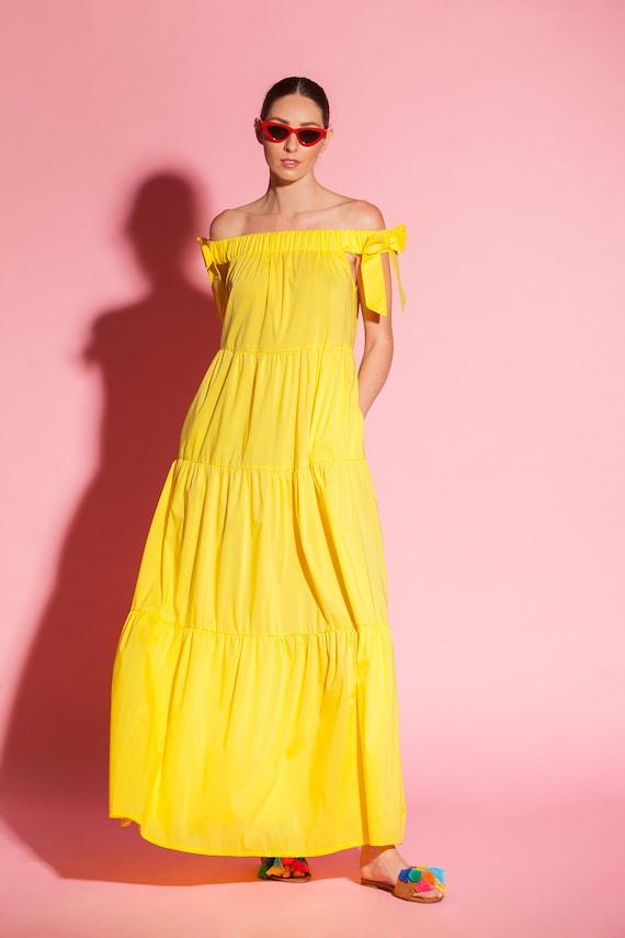 dress size dress clothing Plus dress size Trendy Plus maxi boho Yellow 205 size Yellow plus summer dress maxi dress boho plus size 126 q0fxwTR5