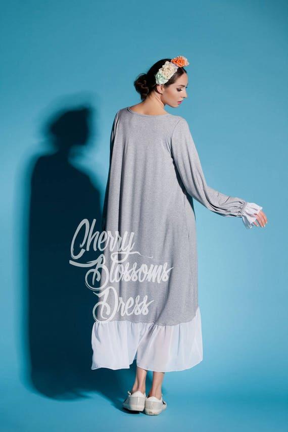 High Maxi dress Plus Summer with Grey Maxi 172 dress dress dress dress dress Grey Maxi dress sleeves 022 size summer dress Casual Low wqzEEdI