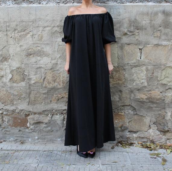 Plus Maxi dress size Summer Abaya dress Spring Black dress Party dress Elegant Dress Plus maxi dress size dress Maxi BwEO7vxqv