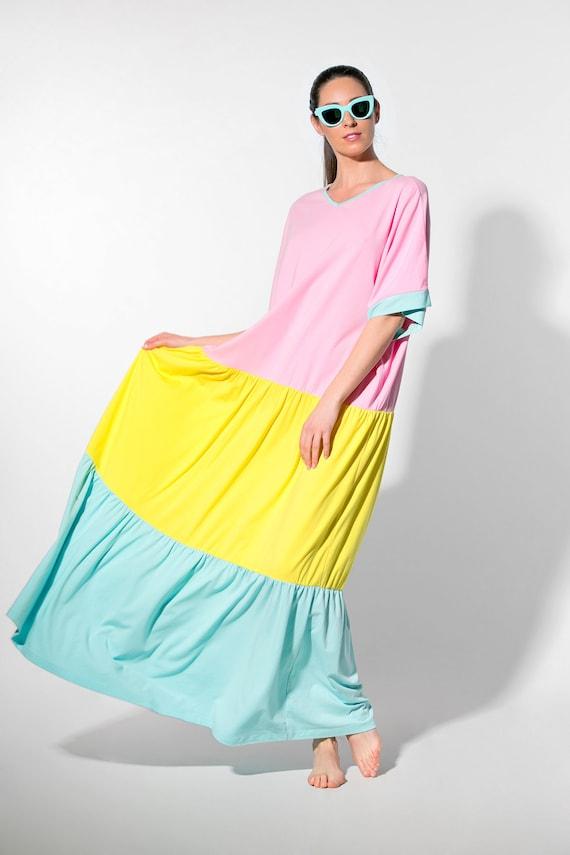 dress plus dress dress Plus dress maxi 093 size Summer size dress 332 Maxi dress clothing Cotton maxi Cotton dress pink maxi Boho BzCwSBxYq
