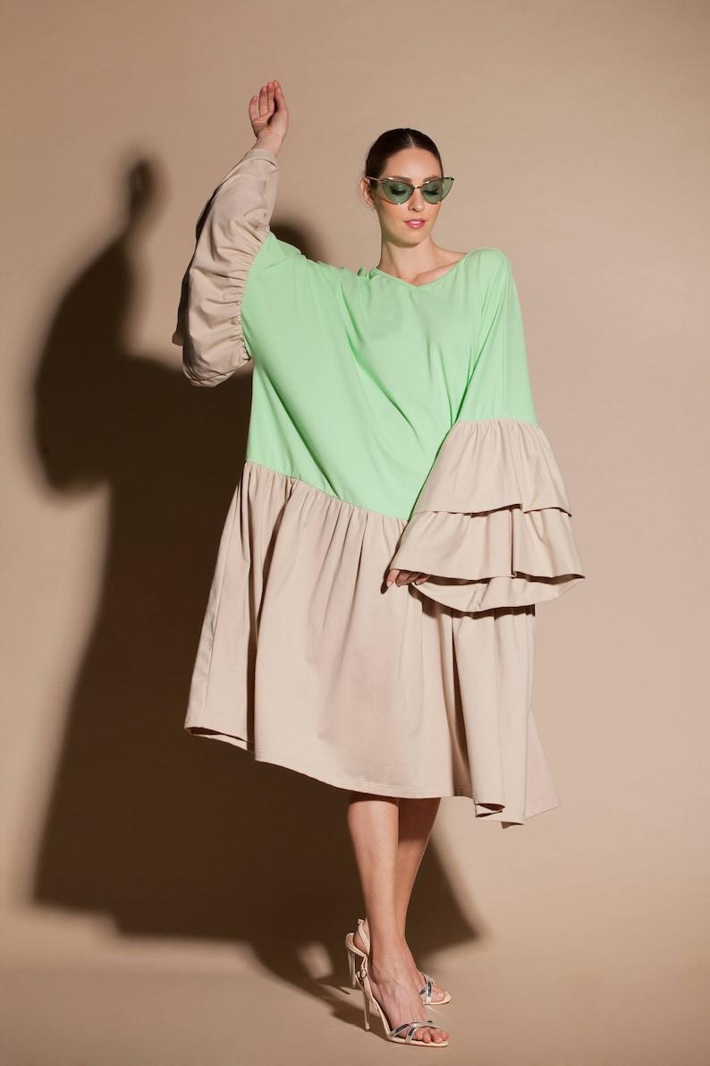 f90887198e36b3 Beige dress  Beige maxi dress  Beige maternity dress