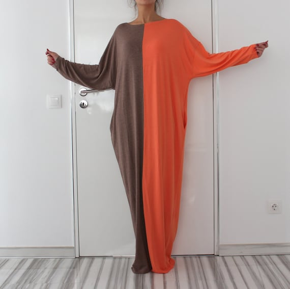 Summer clothing Spring Caftan size dress dress size dress Mocha Maxi Plus dress Plus aqwnzdvPT