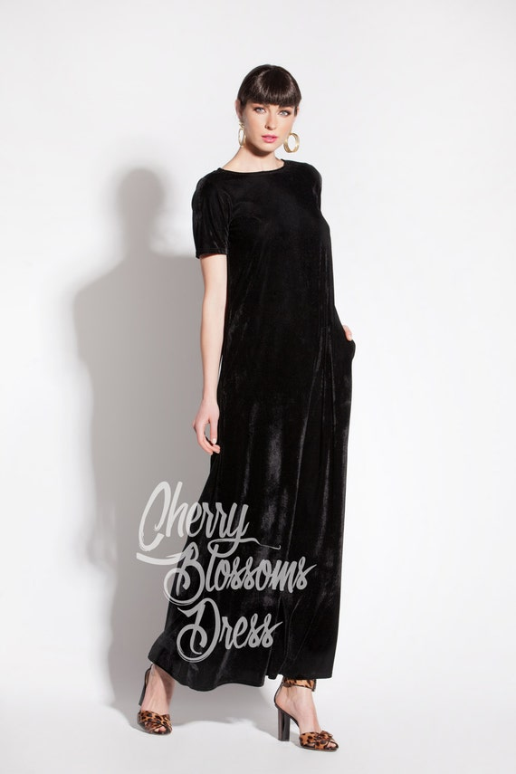 Long Dress dress Dress maxi size maxi Long Black dress Plus Velvet Summer dress size size Plus plus Maxi dress dress Maxi Black Maxi 0vnCqw8w