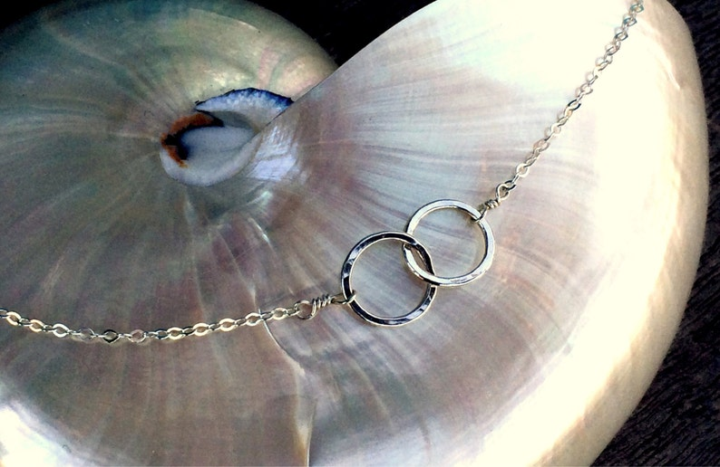 Two of a Kind Sterling Silver Bracelet image 0