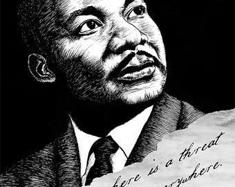 Martin Luther King Jr. (American Icons series) by Ryan Sheffield