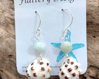 Hawaiian Drupe Shell Earrings