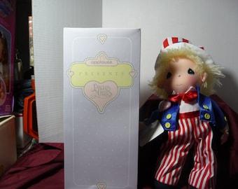 Doll,Precious Moments Uncle Sam Doll