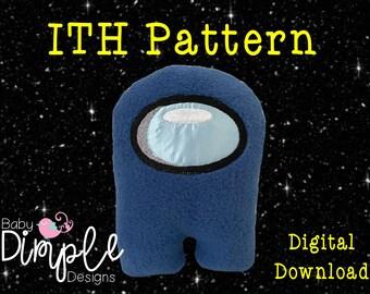 ITH Plushie Design - Among Us