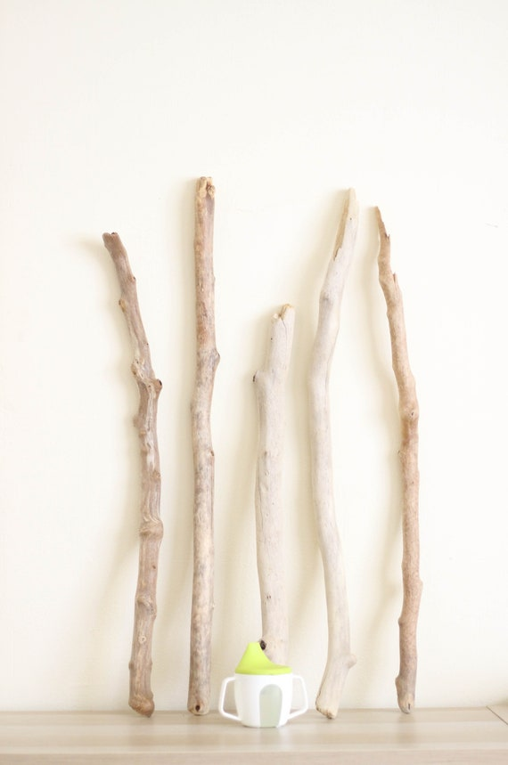 74 cm Driftwood Piece with an interesting form with stone 29