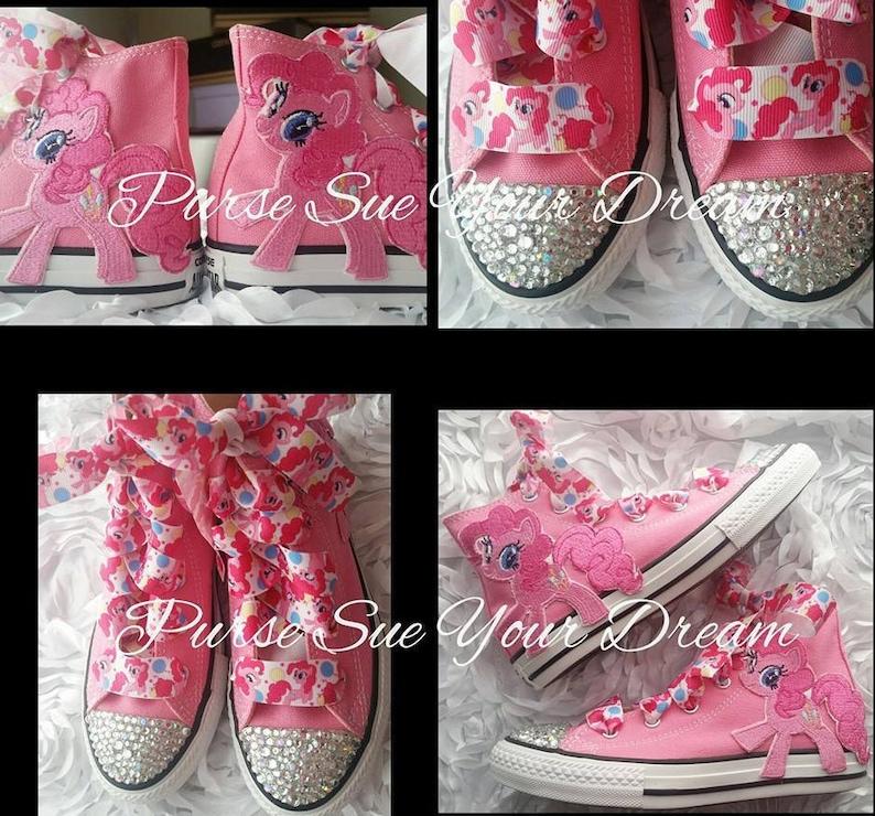d1e776d7cdb4be My Little Pony Custom Converse Swarovski Crystal Shoes