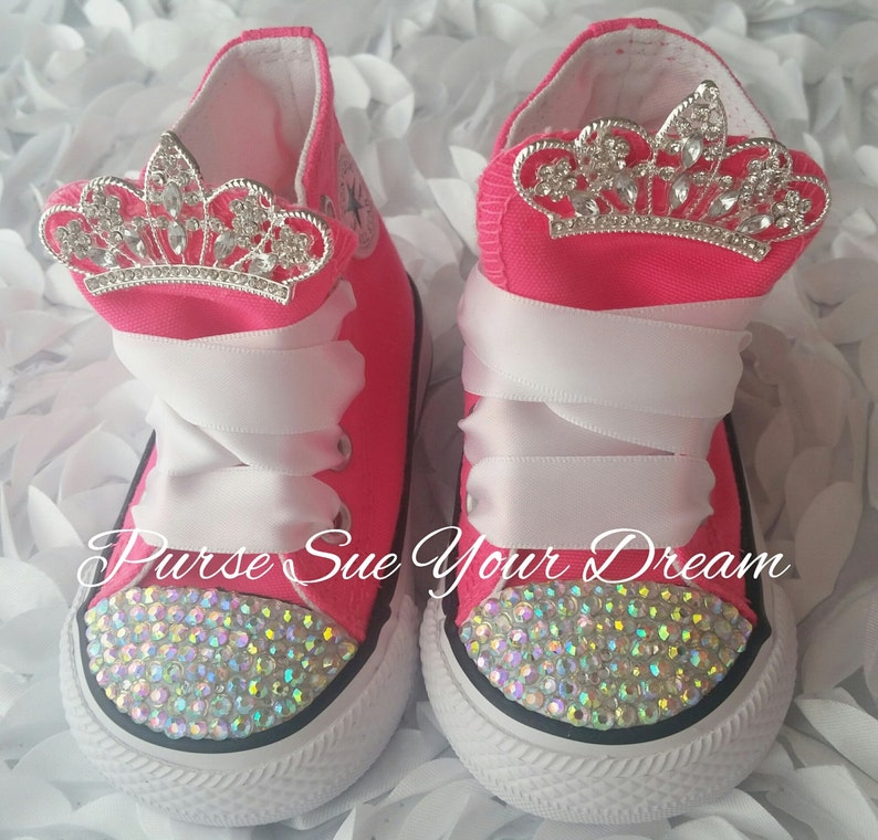 a89fe211bd46 Custom Swarovski Crystal Rhinestone Custom Converse Shoes