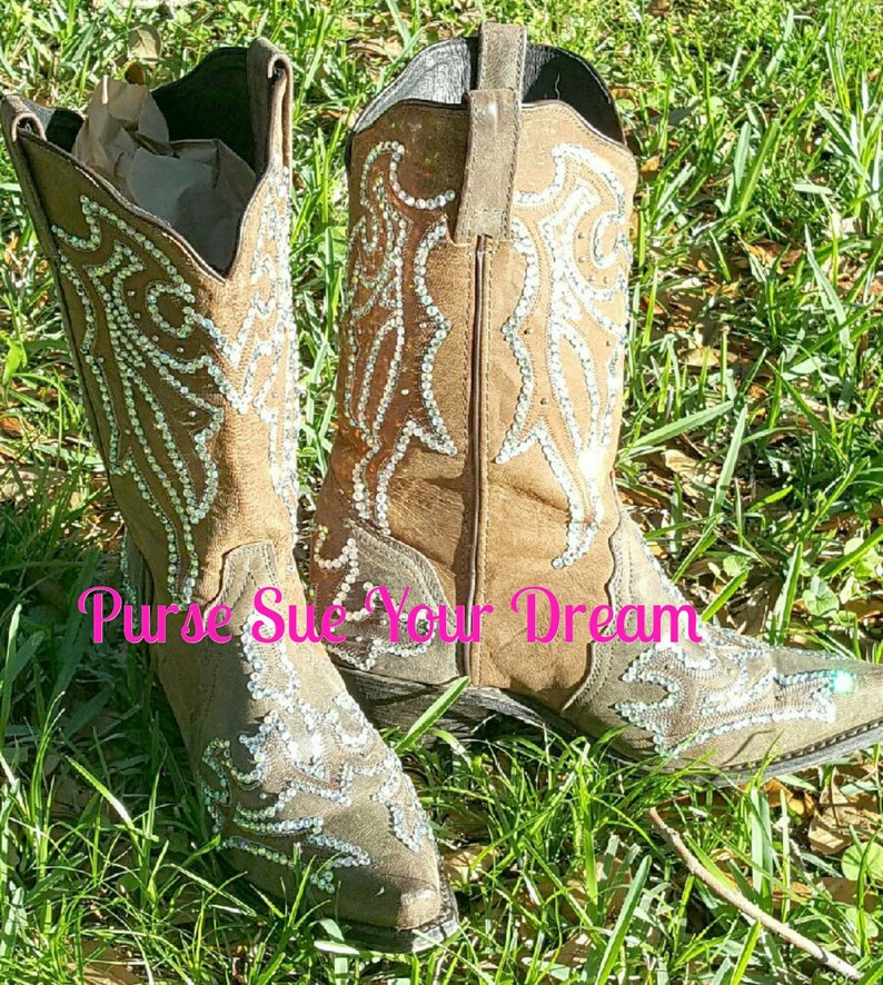 e0ff334ad06 Custom Designed Swarovski Crystals Cowboy Boots - Custom Boots - Swarovski  Wedding Cowboy Boots - Rhinestone Boots - Custom Shoes