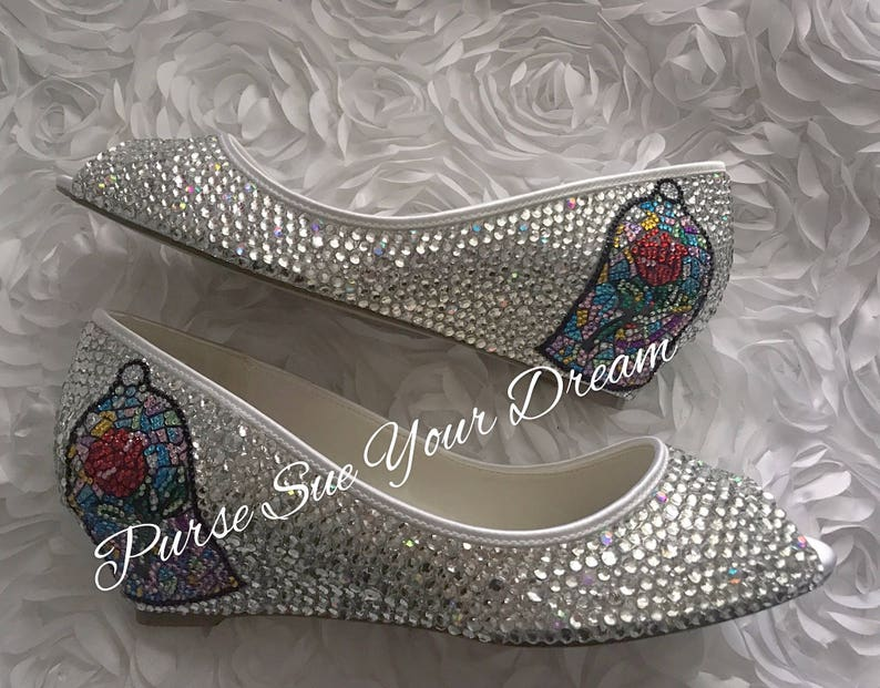 62e1644aa64a17 Swarovski Crystal Bridal BEAUTY and THE BEAST Inspired Wedding