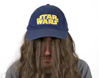 Vintage STAR WARS Logo Snapback Ballcap Hat