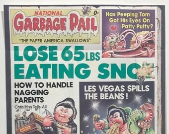Topps Garbage Pail Kids 11 x 17 Wall Poster GPK