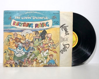 Everything Playing - The Lovin' Spoonful - Kama Sutra KLPS 8061 - Record Vintage Vinyl LP 1968