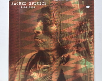 "Sacred Spirits - Yeha Noha - Virgin - Vintage Vinyl 12"" Record, 1994"