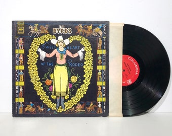 The Byrds - Sweetheart of the Rodeo - Columbia Records Vintage Vinyl LP 1968