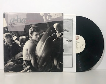 a-ha Hunting High and Low - Vintage Vinyl Record LP 1985 - Warner Bros