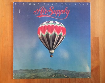 """AIR SUPPLY – The One That You Love  (1981) Vintage Vinyl Record 12"""""""
