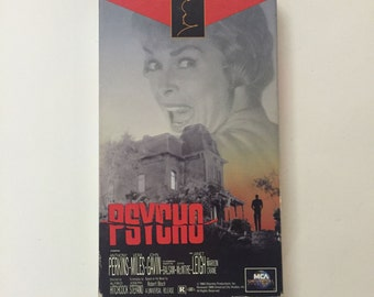 PSYCHO (VHS 1995) Alfred Hitchcock
