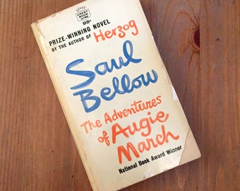 The Adventures of Augie March by Saul Bellow (1965) Vintage Paperback