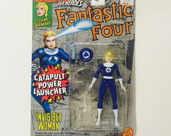 Vintage Fantastic Four: Invisible Woman (Sue Storm) - Sealed on Card 1994