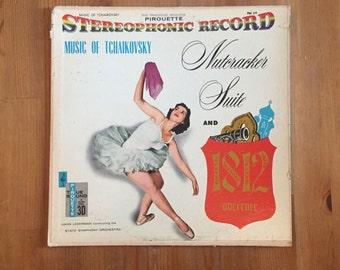 Music of Tchaikovsky Nutcracker Suite and 1812 Overture  - Pirouette FM29 – Vintage Vinyl Record