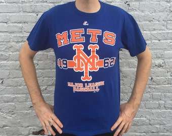 Vintage New York Mets Since 1962 Majestic T-shirt