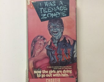 I Was a Teenage Zombie (VHS) 1987