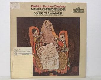 Gustav Mahler, Dietrich Fischer-Dieskau – Mahler: Songs of a Wayfarer & Kindertotenlieder Vintage Vinyl Record LP