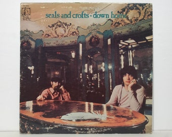 "Seals and Crofts: Down Home – Vintage Vinyl LP Record 12"" (1970)"