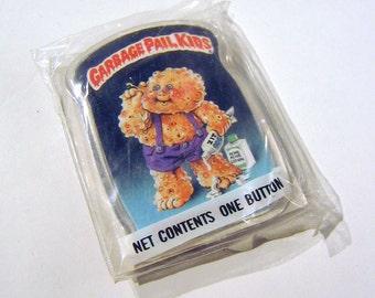 Vintage 1980s Garbage Pail Kids KIT ZIT Pin / Button