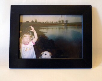 Found Photos - Little Girl with Dog