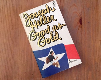 Good As Gold by Joseph Heller (1979) Vintage Paperback