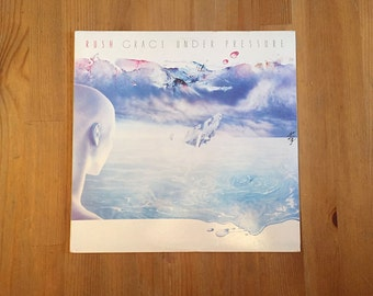 "RUSH – Grace Under Pressure  (1984) Vintage Vinyl 12"""
